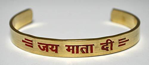 Om Goddess Durga brass healing bracelet | Jai Mata Di | Blessed & Energized | US Seller