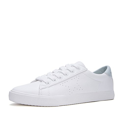 Las Viento Señoras Blancos segundo Primavera Casuales Del 38 De Dhg La Universidad Zapatos Dulces Redondos Cordón wPqnxBtP5v
