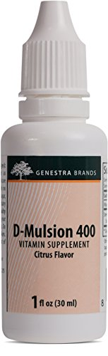 Genestra Brands D Mulsion Emulsified Vitamin
