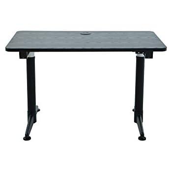 Apexdesk Vortex Series 48-in Wide Electric Height Adjustable Standing Desk (2-Button Controller, Textured Black)