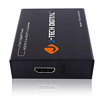 Amazon com: Monoprice 115242 Blackbird 4K Pro HDCP Converter, 2 2 to