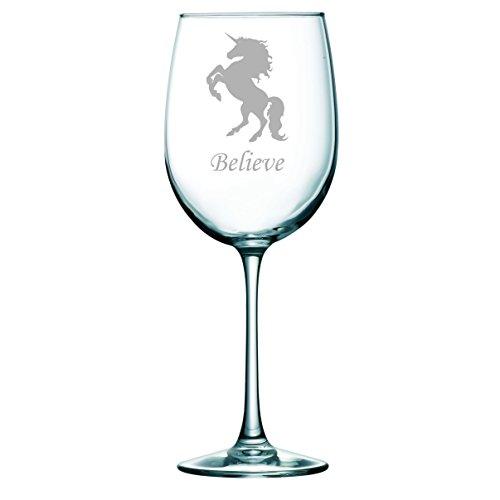 Unicorn wine glass, 19 oz.