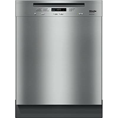 "Miele 24"" Futura Crystal Stainless Steel Dishwasher, Water Softener, Cutlery Tray - G6105SCSS"