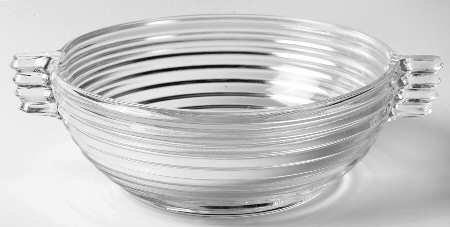 Anchor Hocking Manhattan Clear Depression Glass 9 1/4