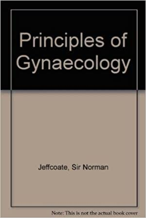 jeffcoates principles of gynaecology
