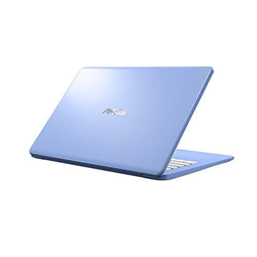 "31vnaA9T53L - Asus Laptop L406 Thin and Light Laptop, 14"" HD, Intel Celeron N4000 Processor, 4GB RAM, 64GB eMMC Storage, Wi-Fi 5, Windows 10, Blue, L406MA-AB02-BL, One Year of Microsoft Office 365"