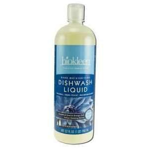 Biokleen 717256000707 Moisturizing Dishwash Liquid- 32-Ounce Bottles- Case of 12 by Biokleen