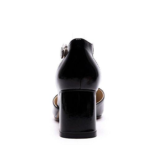 Compensées Noir AdeeSu Noir Compensées Femme Sandales Femme AdeeSu Sandales rfSf8Yxw