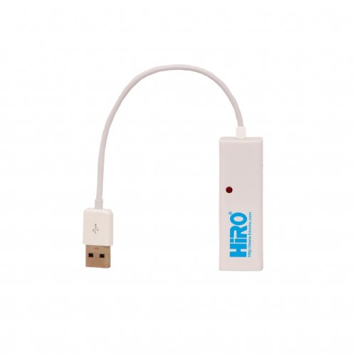 HiRO H50223 USB 2.0 to Fast Ethernet LAN 10/100Mbps Portable Network Adapter Windows 10 8.1 8 7 Vista XP 32-bit 64-bit Mac OS X 10.5 Compatible from HIRO