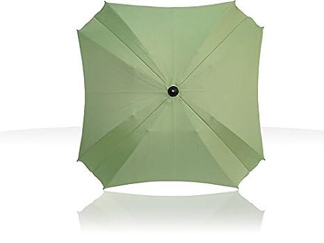 Sombrilla para carritos, con brazo de fijación flexible, con protección UV, 68 cm de diámetro Pistachio: Amazon.es: Bebé