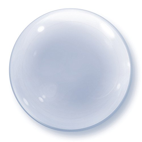Qualatex 24 Inch Deco Clear Bubble Balloon (One Size) (Clear)