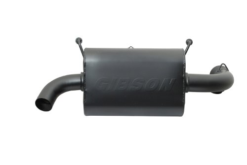 Gibson 98017 Black Ceramic Exhaust System for (1 Gibson Exhaust Tip)
