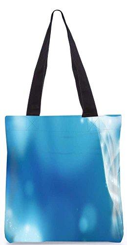 """Snoogg Abstrakten Funkelnde Design Tragetasche 13,5 X 15 In """"Einkaufstasche Dienstprogramm Trage Von Polyester Canvas"""