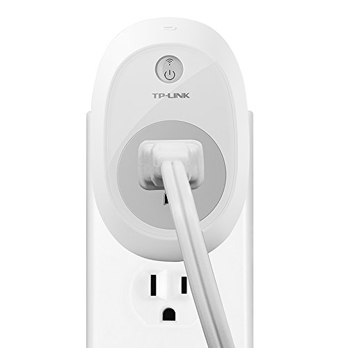 TP-Link Smart Plug, No Hub Required, Wi-Fi, Control your Devices from Anywhere, Works with Alexa (HS100)