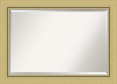 Amanti Art Framed Vanity Mirror   Bathroom Mirrors for Wall   Landon -