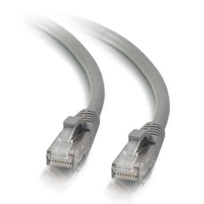 Cat5e Network Ethernet Patch Cable RJ45 100 Feet Grey