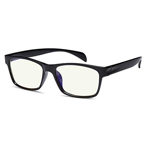 Gamma Ray Blue Light Blocking Reading Glasses - Amber Tint Screen Readers 1.25