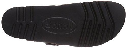 Scholl CARSOL AD dk. brown - sandalias abiertas de cuero mujer marrón - marrón
