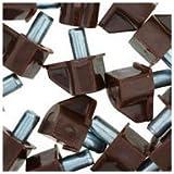 WIDGETCO 5mm Brown Shelf Pins
