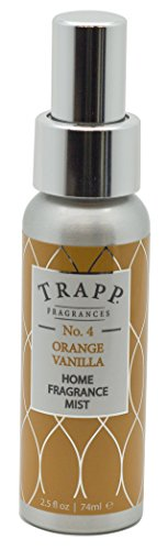 Trapp Home Fragrance Mist, No. 4 Orange/Vanilla, 2.5-Ounces by Trapp
