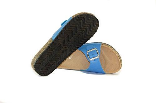 Nineties - Zapatos de Tap Mujer Azul
