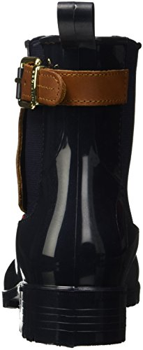Multicolour Women's Hilfiger Boots UK Slouch O1285xley Midnight 403 Black 4 Tommy 2z2 gzwwq