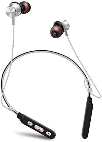 HNSYDS ワイヤレススポーツブルートゥースヘッドセット4.1ぶら下げイヤホンぶら下げステレオステレオイヤー ゲーミングヘッドセット (Color : Black)