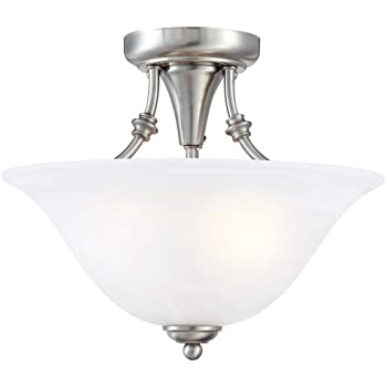 Hardware house 544676 bristol 13 by 11 inch 2 light semi flush hardware house 544676 bristol 13 by 11 inch 2 light semi aloadofball Images