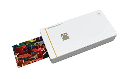 Kodak Mini Portable Mobile Instant Photo Printer - Wi-Fi & NFC Compatible - Wirelessly Prints 2.1 x 3.4