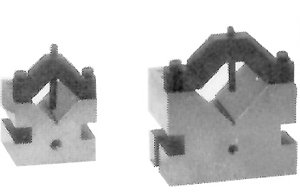 60 Degree V-Blocks, 2 1/2 X 2 1/2 X 2,Pair by Flexbar