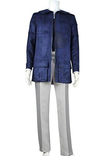 XOMO Star Trek 2 The Wrath of Khan Cosplay Leonard McCoy Full Set Costume Male (Leonard Mccoy Costume)