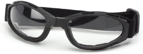 Bobster Crossfire Small Folding Goggles Black Frame//Smoked Anti-Fog Lens