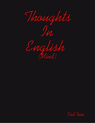 Thoughts In English (Mind)