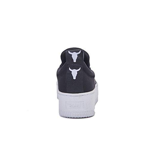 Nero Smith Speedy De Gymnastique Noir Windsor Chaussures Femme bianco nH0qZFZSw