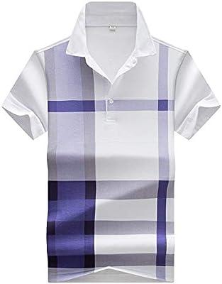 JTQMDD Camiseta De Verano De Rayas For Hombre, De Manga Corta ...