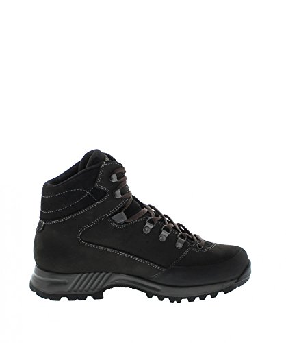 Women's Ash Grey Ash Black Black Grey Hanwag Shoes Hiking Black Tudela Mid Lady gUzdqzaw