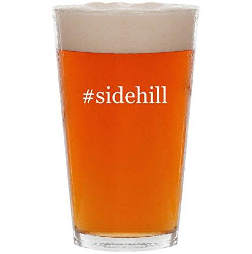 - #sidehill - 16oz Hashtag All Purpose Pint Beer Glass