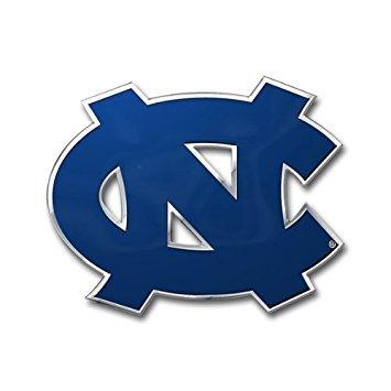 Team ProMark NCAA North Carolina Tar Heels Die Cut Color Automobile Emblem