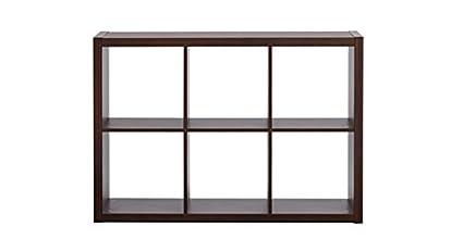 Urban Ladder Boeberg 3 x 2 Bookshelf (Dark Walnut)