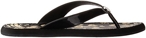 Raia Flip Women's Lauren Flop Black Ralph Lauren 6T7x04