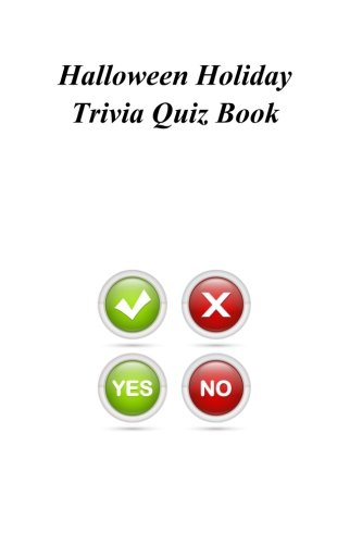 Halloween Holiday Trivia Quiz Book