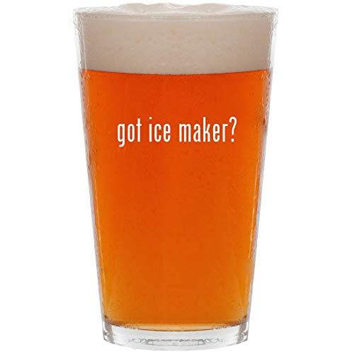 got ice maker? - 16oz Pint Beer Glass