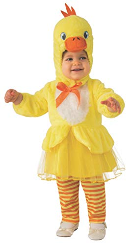 Rubie's Kid's Opus Collection Lil Cuties Little Duck Tutu Costume Baby Costume, As Shown, Toddler