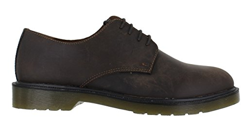 Red Tape Avon - Black - Zapatos de cordones de Piel para hombre Negro negro 40 2/3 marrón