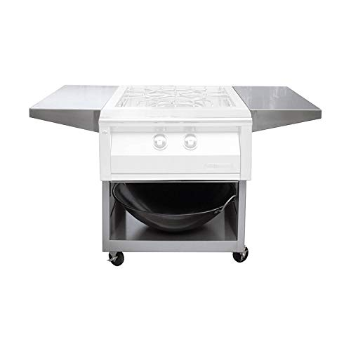 Alfresco Cart - Alfresco Cart for Versapower Cooker (AXEVP-C), 24-Inch