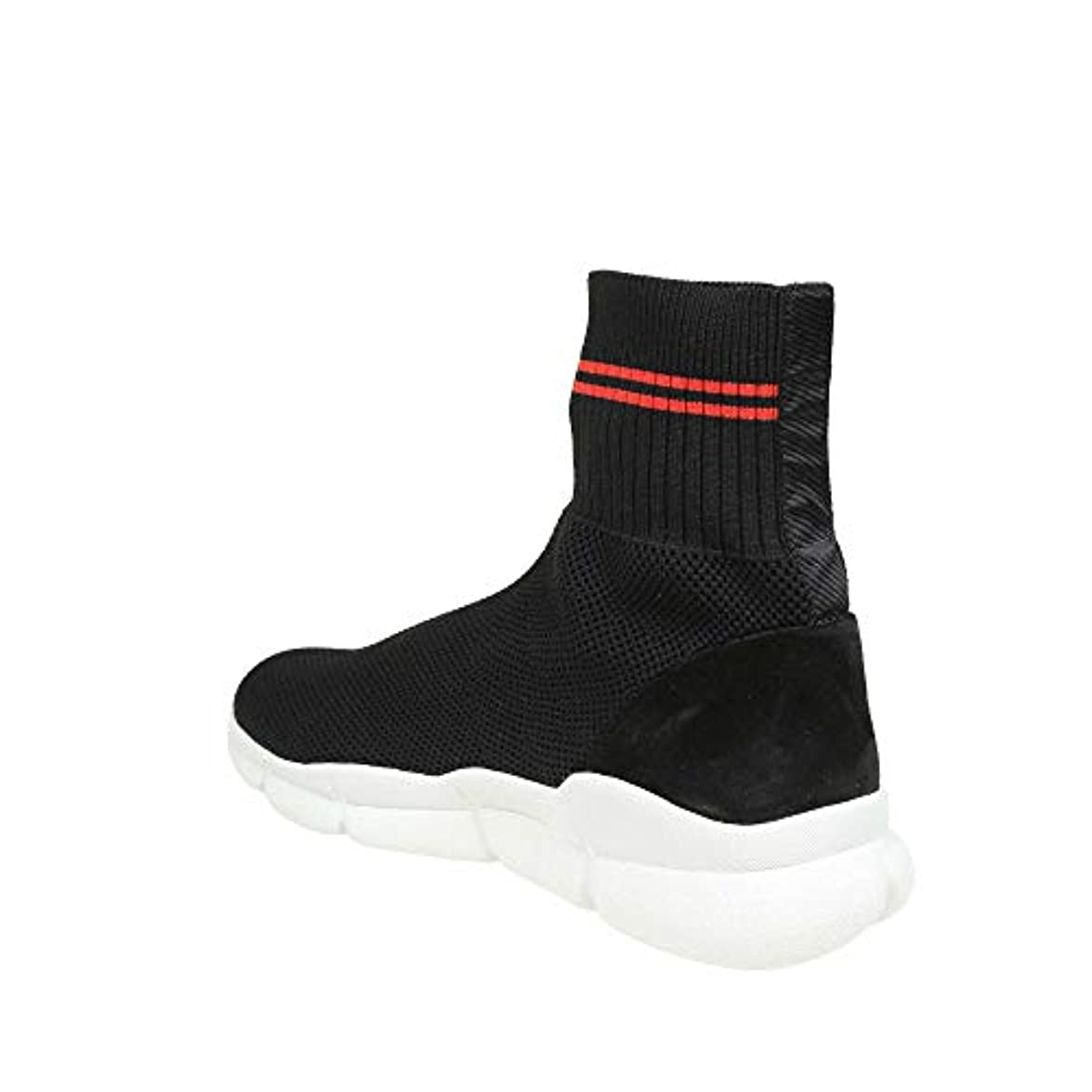 Msgm Slip On Sneakers Donna 2641mds321154 Poliammide Nero