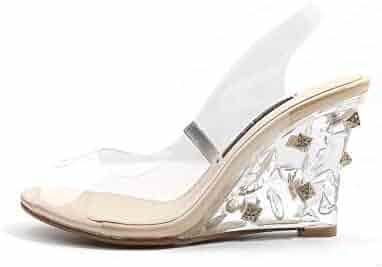 ecc13d4cafbcf Shopping Last 90 days - Clear - Shoes - Women - Clothing, Shoes ...