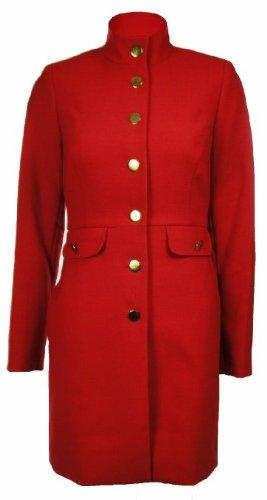 Sutton Studio Women's Wool Blend Long Jacket Coat