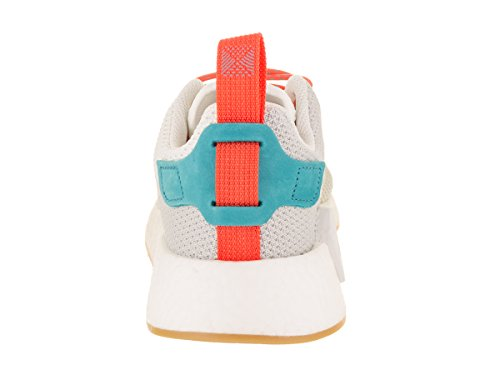 adidas Men's NMD_R2 Summer Originals Running Shoe Crystal White/Orange/Green cheap sale purchase sale recommend cheap marketable Inexpensive online 1ryiM4mfe