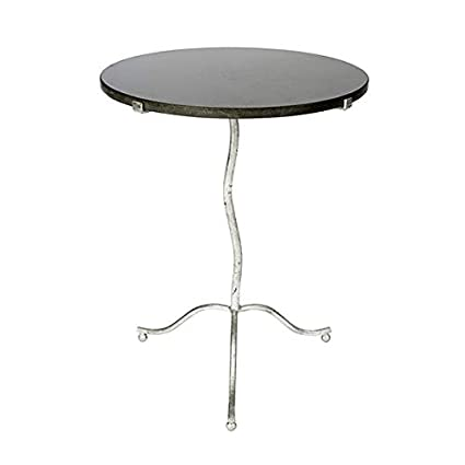 Marvelous Amazon Com Kalmar Occasional Silver Occasional Table Bralicious Painted Fabric Chair Ideas Braliciousco